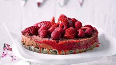 Raw Berry And Chocolate Torte