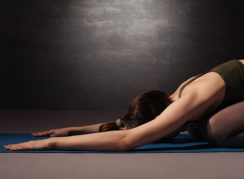 It's summer time and and the YOGA is sweaty! By Alison Roberts