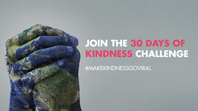 Join The 30 Days of Random Acts of Kindness Challenge