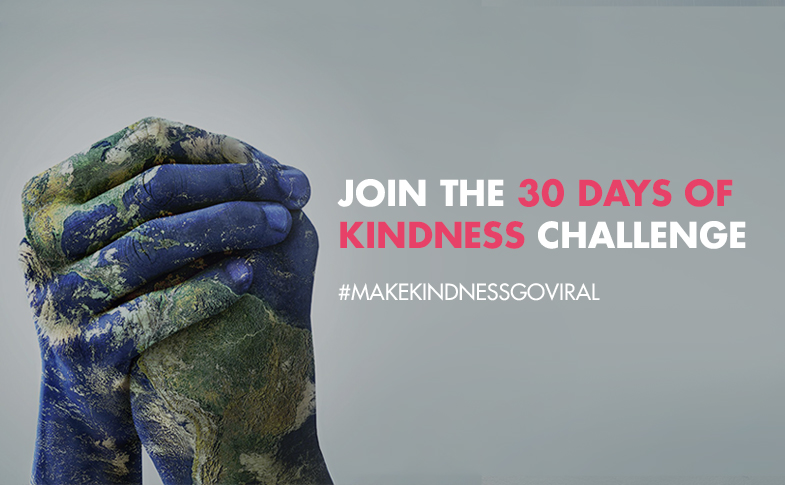 Join The 30 Day Random Act of Kindness Challenge